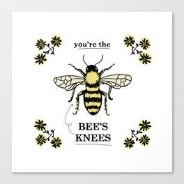 Bee's Knees Canvas Print