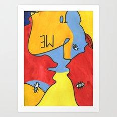 Me to You Art Print
