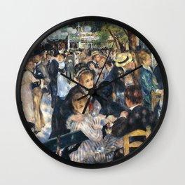 Dance at Le Moulin de la Galette by Renoir Wall Clock
