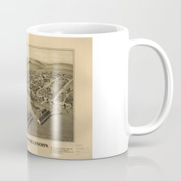 Aerial View of Wilson and Mendelssohn, Pennsylvania (1902) Coffee Mug