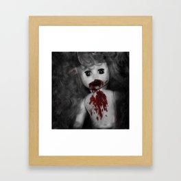 Zombie Baby Framed Art Print