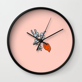 Inktober Day 18 - Luck Wall Clock