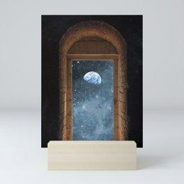 DOOR TO THE UNIVERSE Mini Art Print