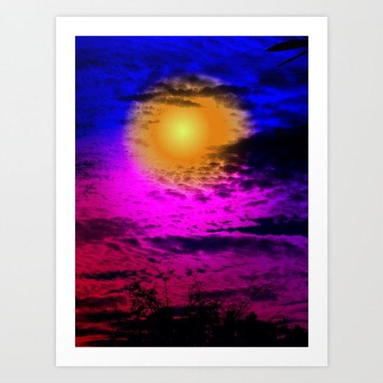 Sol Night Art Print