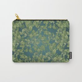 Verdant Leaves Carry-All Pouch