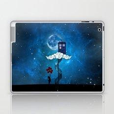 Tardis Stair banksy ballons Girl Laptop & iPad Skin