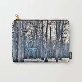 Winter Tree Fantasy Carry-All Pouch