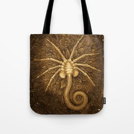 Facehugger (Sepia) Tote Bag