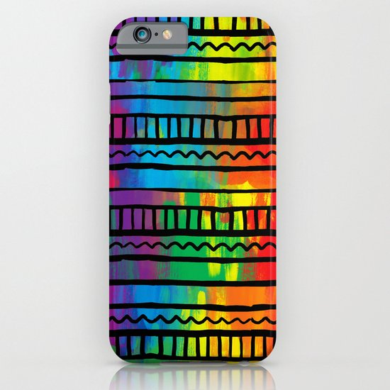 Indigenous traces iPhone & iPod Case