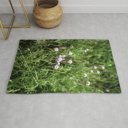 Canada Thistle Rug