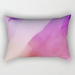 Red paint background Rectangular Pillow