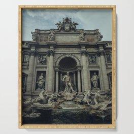 Fontana Di Trevi Serving Tray
