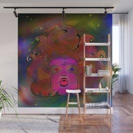 Garnet galaxy Wall Mural