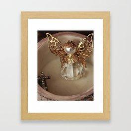 Angel Watch Over You Framed Art Print