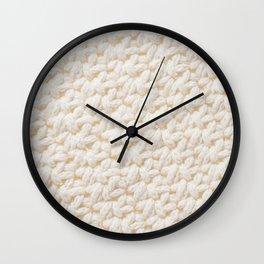 knitted pillow Wall Clock