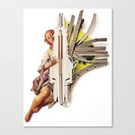 Sparklette   Collage Canvas Print