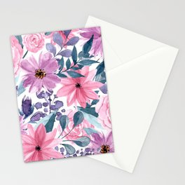 FLOWERS XII Stationery Cards