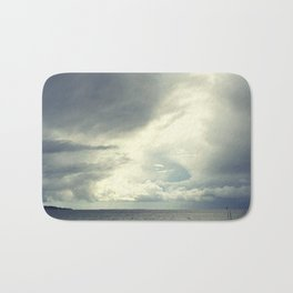 Sea& clouds Bath Mat