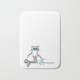 Cats are a**holes Bath Mat