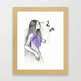 Wish On A Star Framed Art Print