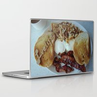 breakfast Laptop & iPad Skins featuring Breakfast by Gurevich Fine Art