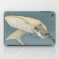 whales iPad Cases featuring Whales by Mikael Biström