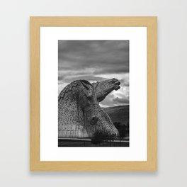 Proud. Framed Art Print