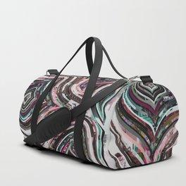 Marble Wisdom Love Veins 2 Duffle Bag