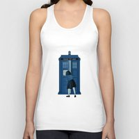 narnia Tank Tops featuring A Magical Box [Doctor Who, Narnia] by Ruwah
