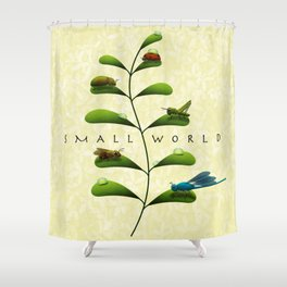 Small World Shower Curtain