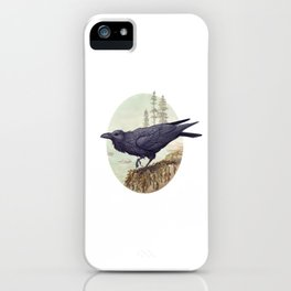 Raven of the North Atlantic iPhone Case