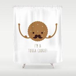 Tough Cookie Shower Curtain