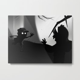 Limbo Falls Metal Print