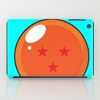 dragonball z iPad Cases featuring Sacred Dragonball by Hussein Ibrahim