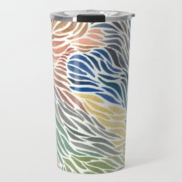 Rainbow Flow Travel Mug
