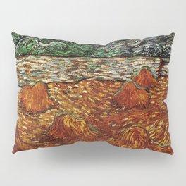 Van Gogh, night at the rising of the moon – Van Gogh,Vincent Van Gogh,impressionist,post-impressioni Pillow Sham