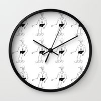 skeleton Wall Clocks featuring skeleton by Astro Nascha