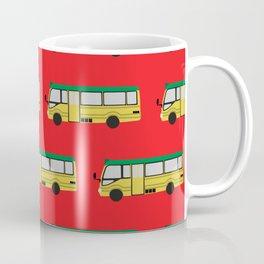 Might Minibus Pattern Coffee Mug