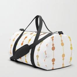 Multi-faceted decorative lines 13 Duffle Bag