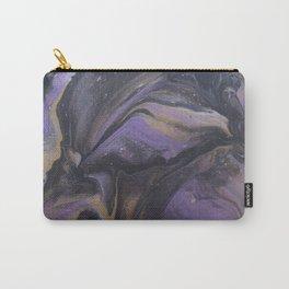 Purple Bird God Carry-All Pouch