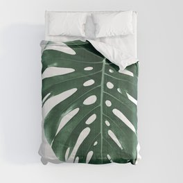 Monstera Delight #4 #tropical #decor #art #society6 Comforters