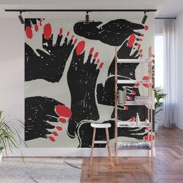 Feet Wall Mural