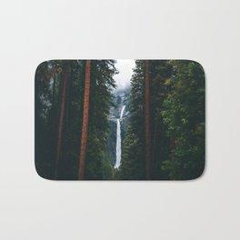 Yosemite Falls - Yosemite National Park, California Bath Mat