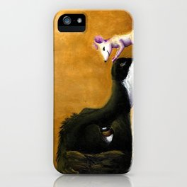 Dog and Mouse iPhone Case