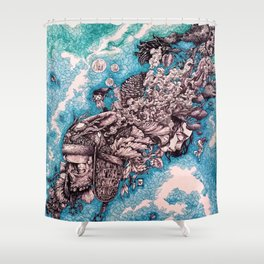 For whom the bell tolls Shower Curtain