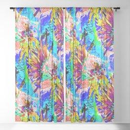 Hawaiian Delight.... Sheer Curtain