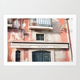 Old Lisbon Art Print