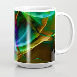 Aurora Blue Coffee Mug