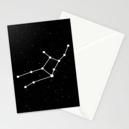 Virgo Star Sign Night Sky Stationery Cards