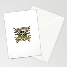 Gangsta Rap Made Me Do It Stationery Cards